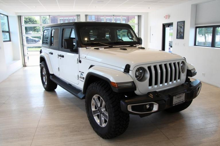 Used 2018 Jeep Wrangler Unlimited Sahara for sale $43,900 at Aston Martin Summit in Summit NJ